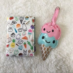 Ice Cream Passport Cover and Luggage Tag 🍦